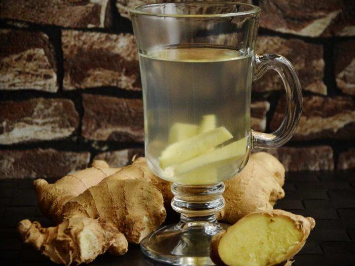 Infusion antioxydante au gingembre miel et citron
