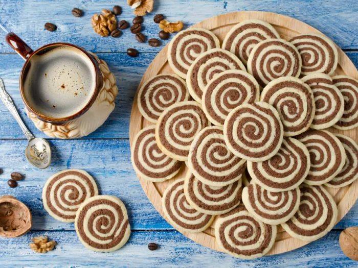 Cookies vegan à la vanille et chocolat