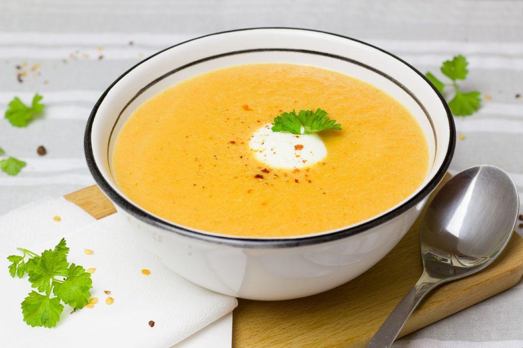 Recette de soupe aux carottes et aneth