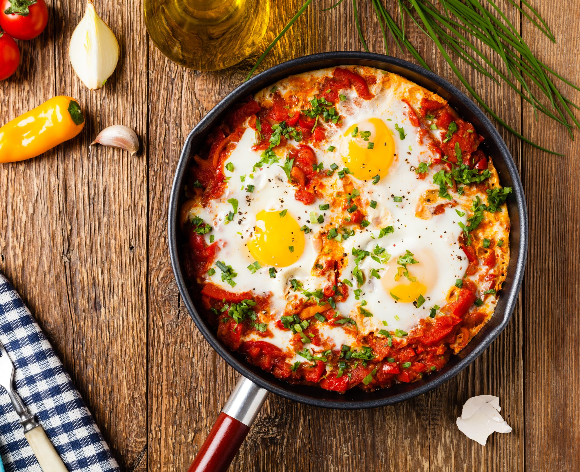 shakshouka traditionnelle