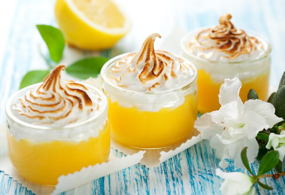 creme citron meringue healthy