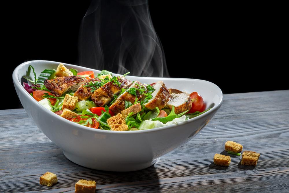 La vraie recette de salade César au poulet