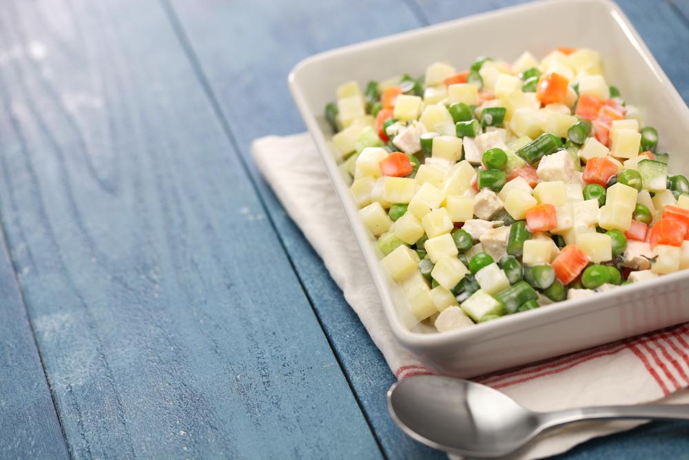 Macédoine de légumes healthy