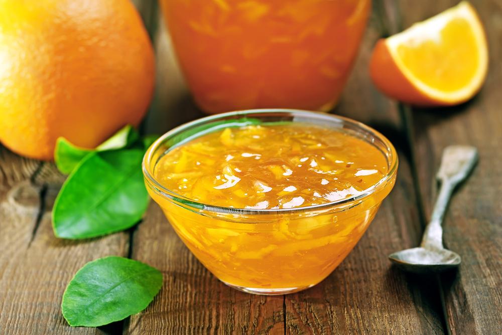 marmelade orange maison
