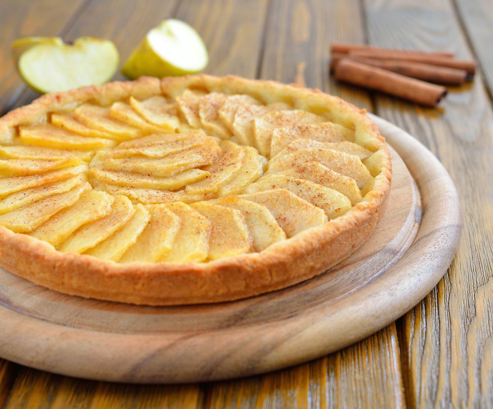 Tarte aux pommes healthy