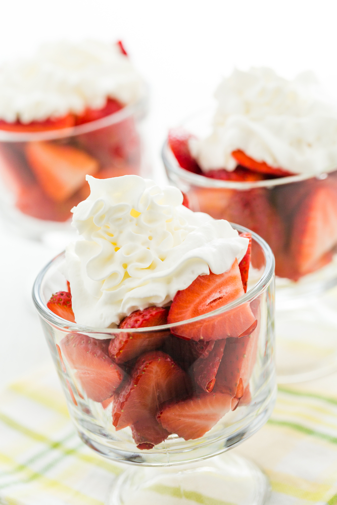 fraise gaguirette chantilly