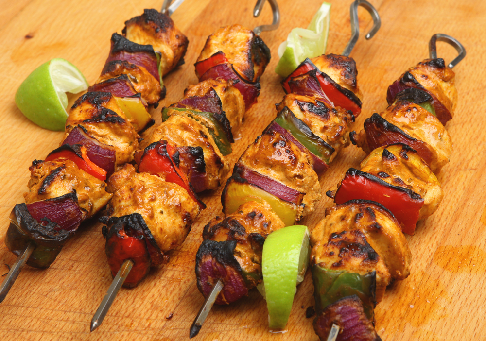 brochette de poulet healthy marinade