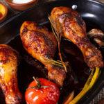cuisse de poulet healthy au miel
